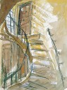 巴黎川美工作室旋梯