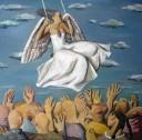 天使100×100cm