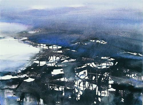 徽州意象·丁村的冬天