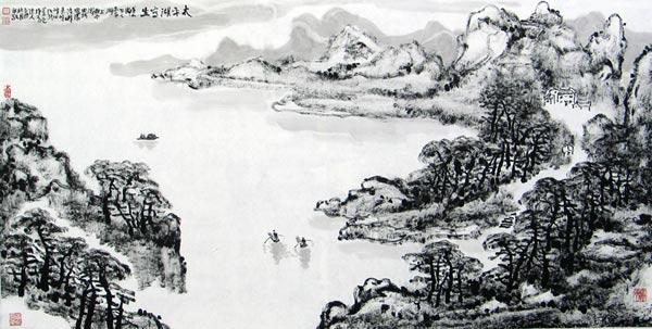 太平湖写生