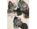 《藏人写生》 1980年作