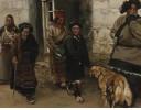 西藏山村 1989年作